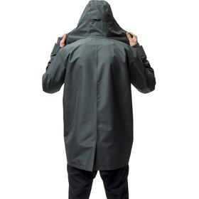 Houdini M's Sherlock Coat Deeper Green